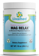 Load image into Gallery viewer, Livamed - Mag Relax®- Raspberry Lemonade Flavor 16 Serving Count - Livamed Vitamins