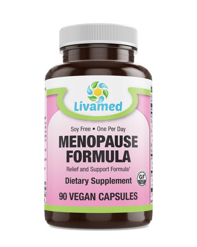 Livamed - Menopause Formula Veg Caps 90 Count - Livamed Vitamins