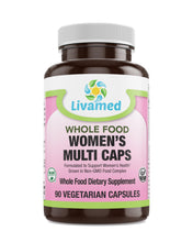 Load image into Gallery viewer, Livamed - Women's Multi Veg Caps - Whole Food Essentials   90 Count - Livamed Vitamins