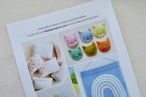 Ready, Set, Embroider! Booklet