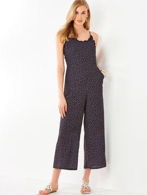 black dot jumpsuit