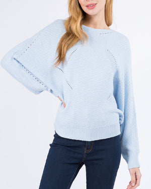 Powder Blue Knit