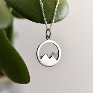 To The Mountains Necklace