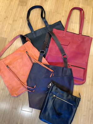 Hold All Leather Tote