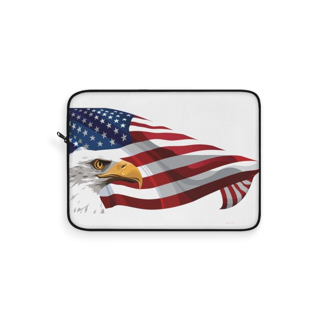 American Flag Eagle - Laptop Sleeve