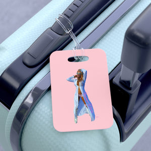 Trance Diva Woman Pink - Bag Tag