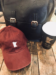 MN Burgundy Relaxed Fit Hat