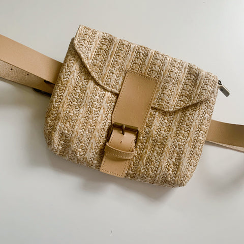 Beckett Belt Bag - Natural