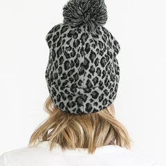 All About Leopard - Grey