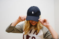 MN Navy Relaxed Fit Hat