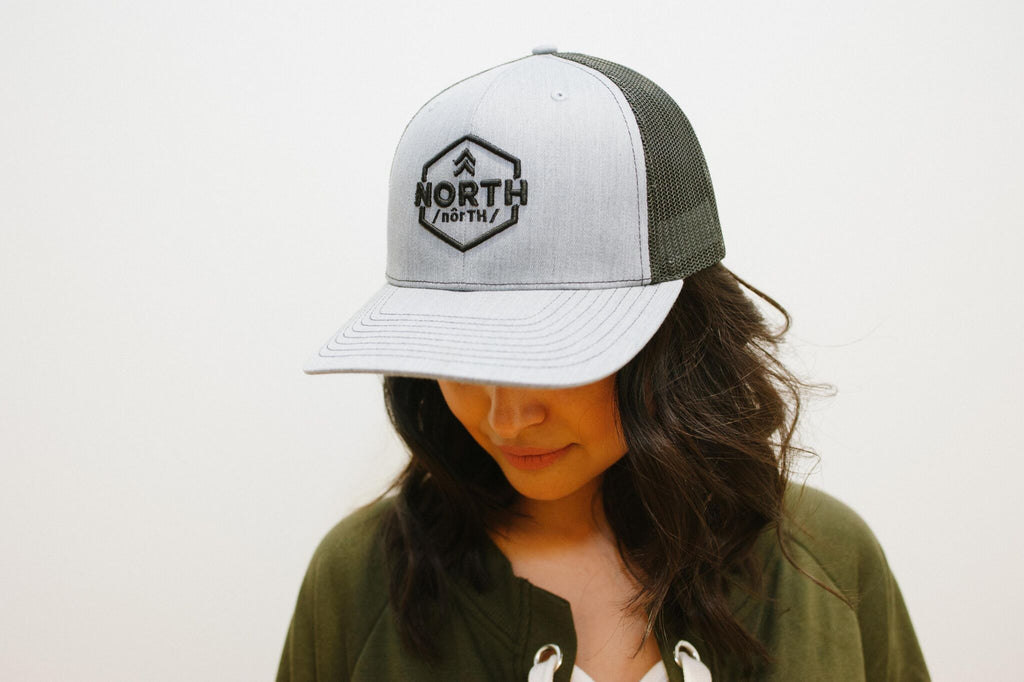 MN Grey North Snapback