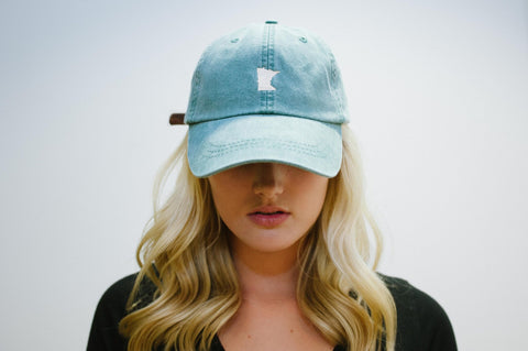 MN Green Relaxed Fit Hat