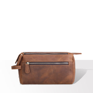 Load image into Gallery viewer, Leather Dopp Kit