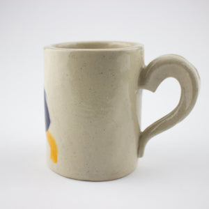 Studio Mug - Blue, Blue and Orange - Fleuro Studio Shop