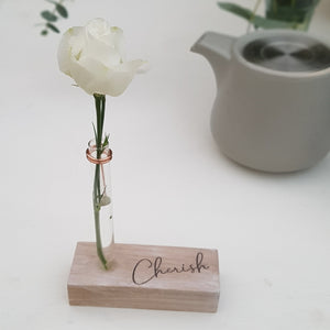 Little Sentimental Bud Vase