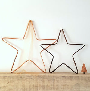Copper Metal Star