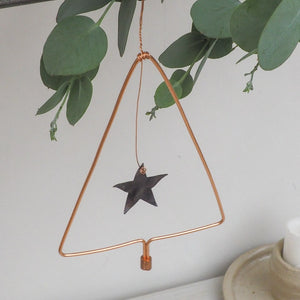 Copper Tree Decoration