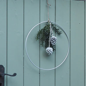 Aluminium Dressed Wreath