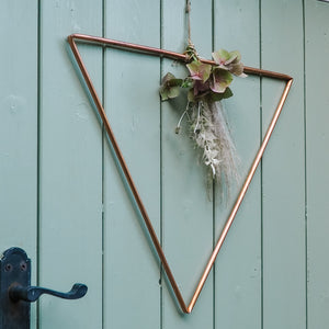 Bright Copper Alternative Wreath