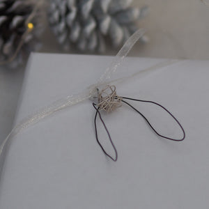 Little Monochrome Mistletoe tag