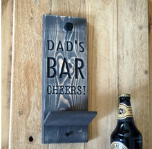 Load image into Gallery viewer, Personalised Engraved Beer Bottle Opener
