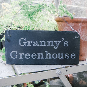 Engraved Slate Sign For Her
