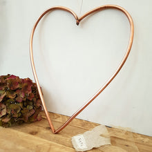 Load image into Gallery viewer, Copper Metal Heart