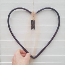 Load image into Gallery viewer, Dark Copper Personalised Heart