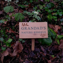 Load image into Gallery viewer, Personalised Engraved Natural Oak Plaque