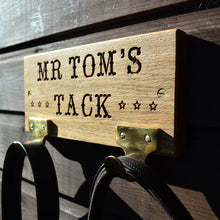Load image into Gallery viewer, Personalised Oak Tack Tidy