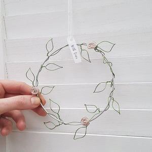 Little Wire Floral Wreath