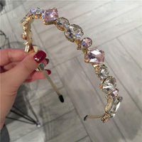 Bling Headband (Pink & Clear)