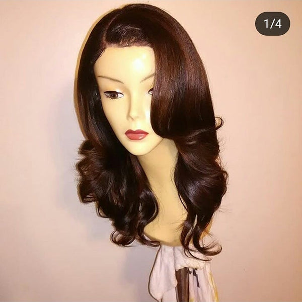 "16"" Layered Virgin Custom Lace Closure Unit"