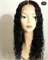 "20"" Italian Curly Closure Unit"