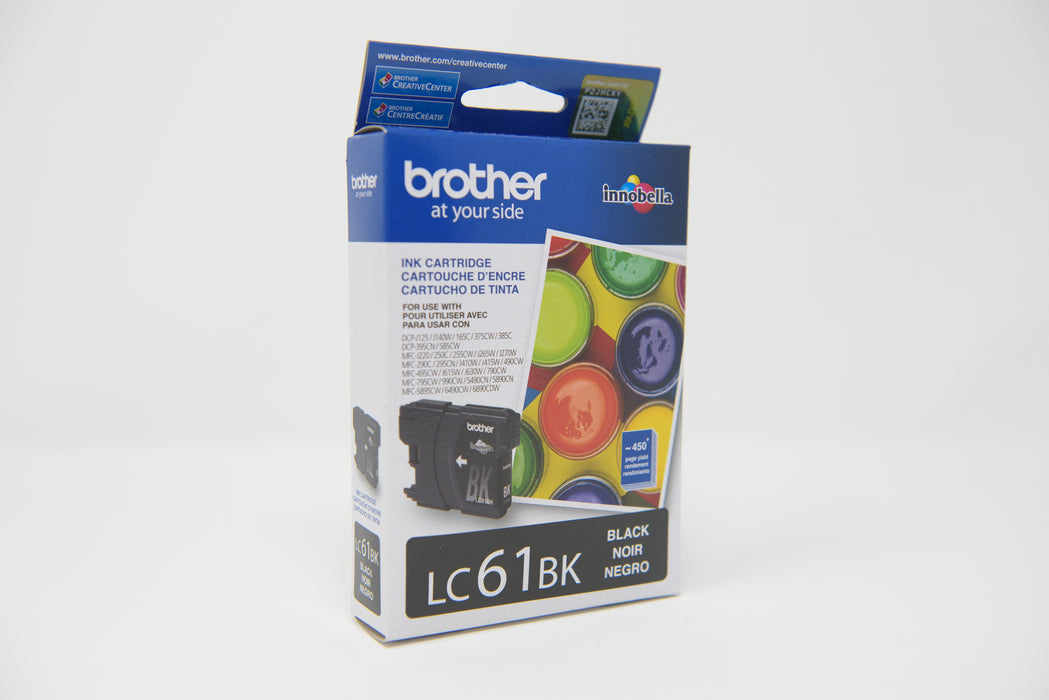 BROTHER CARTUCHO LC61 NEGRO