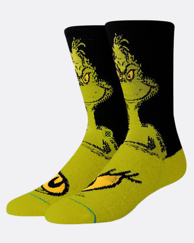 Stance The Grinch Green Socks