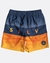 Load image into Gallery viewer, Quiksilver Word Block 15in Boardshorts