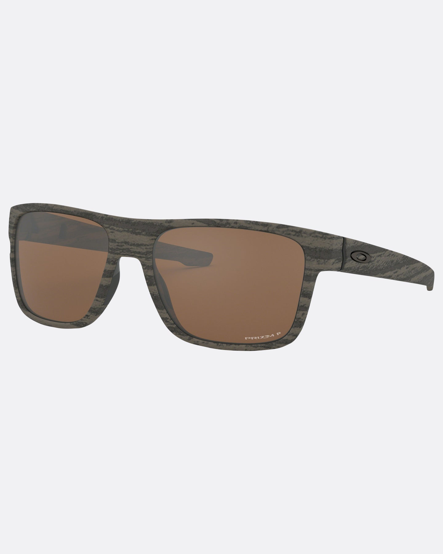 Oakley ® Crossrange Woodgrain Prizm Polarised Sunglasses