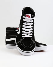 Load image into Gallery viewer, Sk8-Hi Black/White