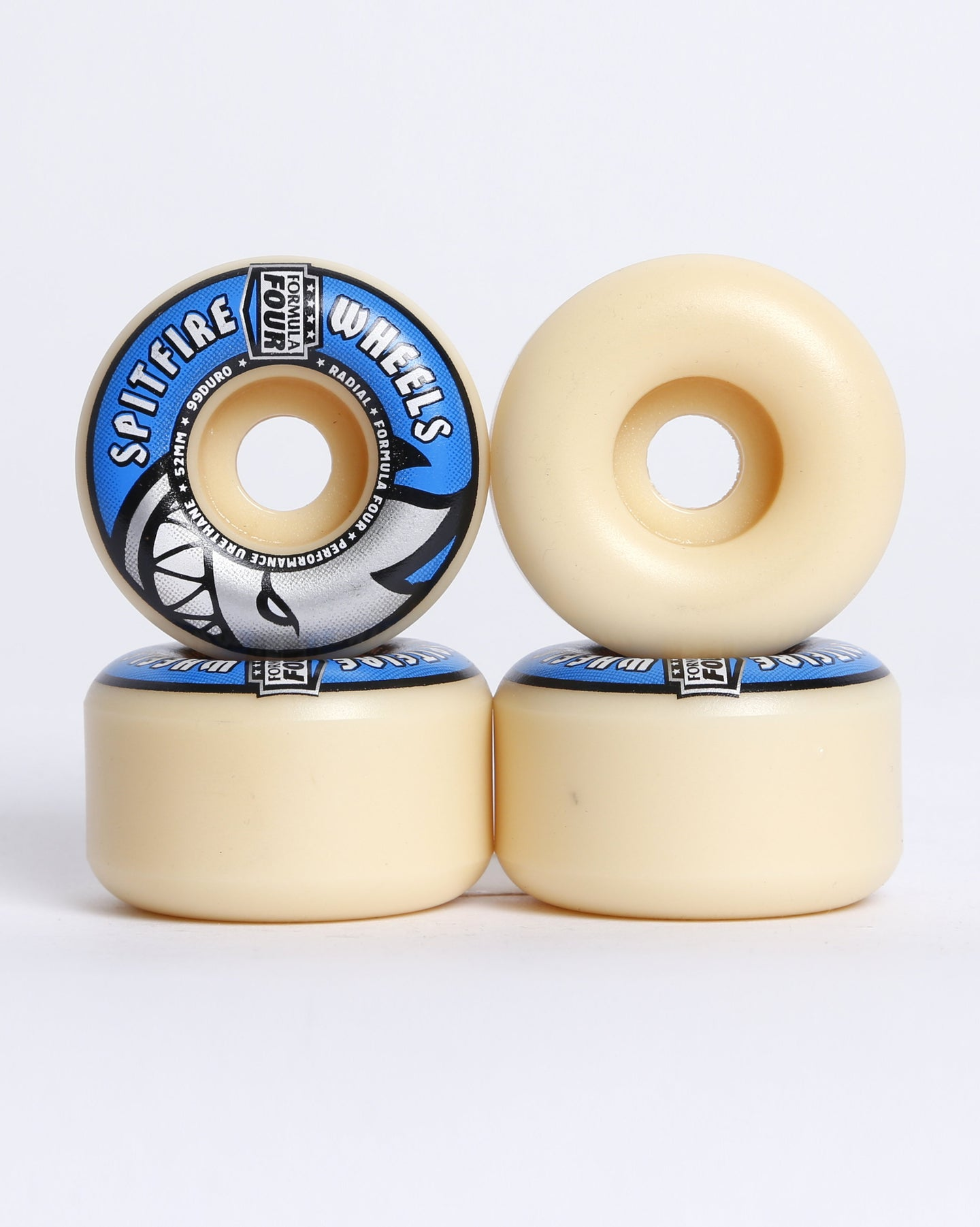 Spitfire F4 Radial 99DU Wheels 52mm