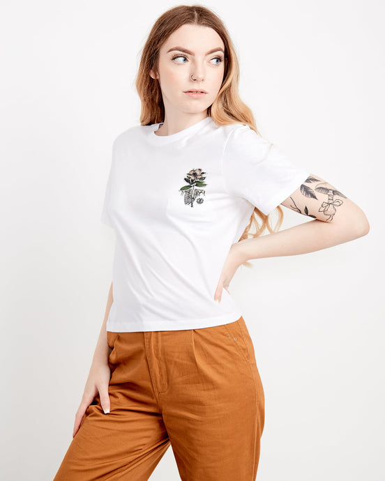Element Optimist Crop Short Sleeve T-Shirt