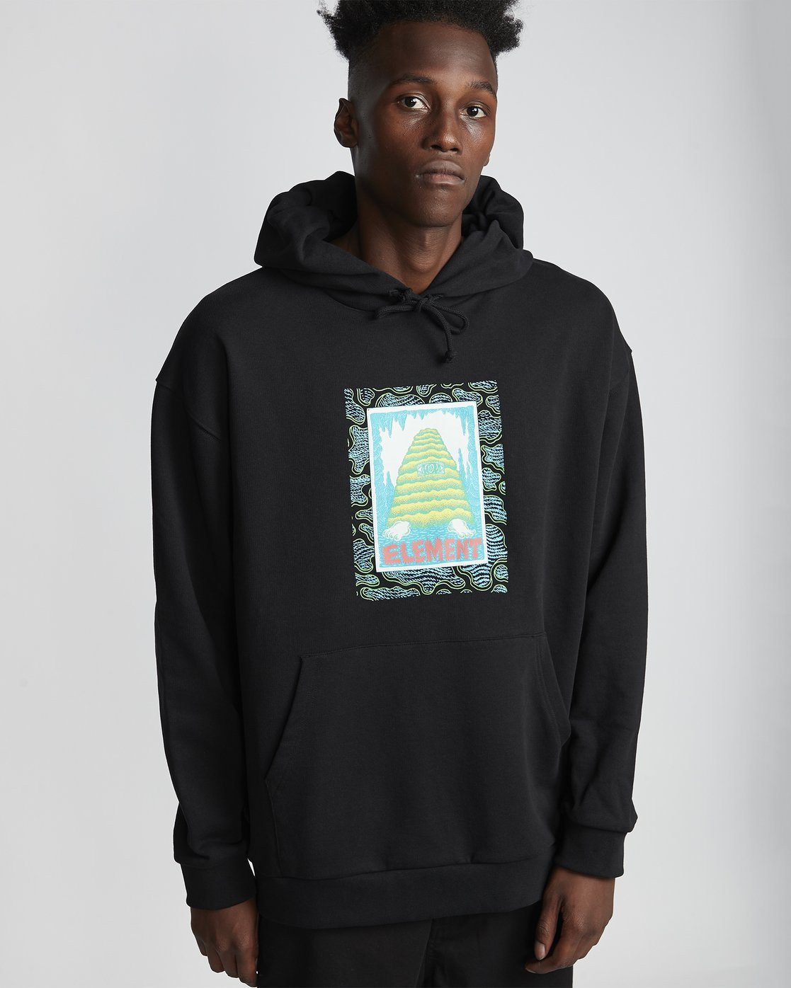 Element Pyramid Man Hooded Pullover