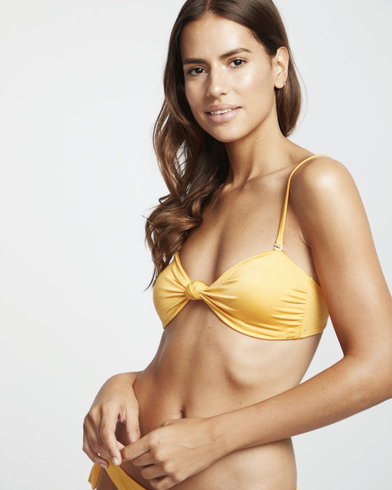Billabong S.S Knotted Bandeau Swim Top