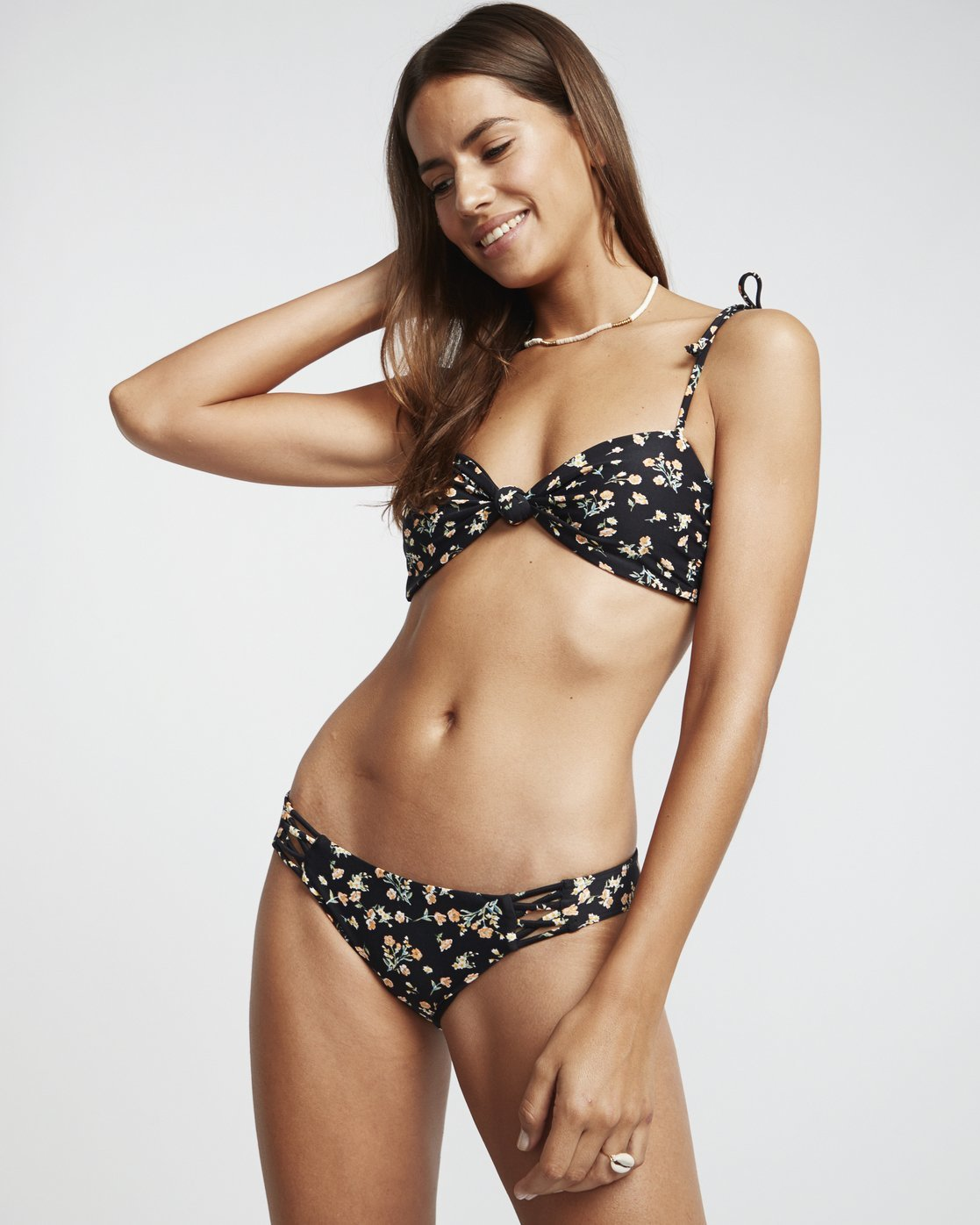Billabong Sweet Side Knotted Bandeau Swim Top