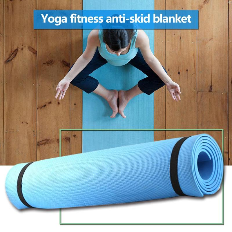 Yoga Mat Exercise Pad