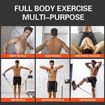 Multi Function Latex Resistance Bands Home Workout (11 PCS)