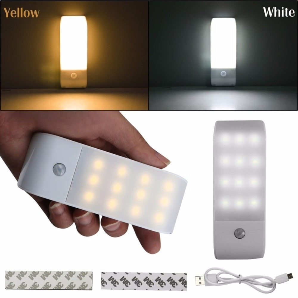 Stick-on Motion Detector Night Light