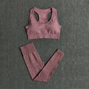 Women Seamless Yoga Set (2 Pieces)