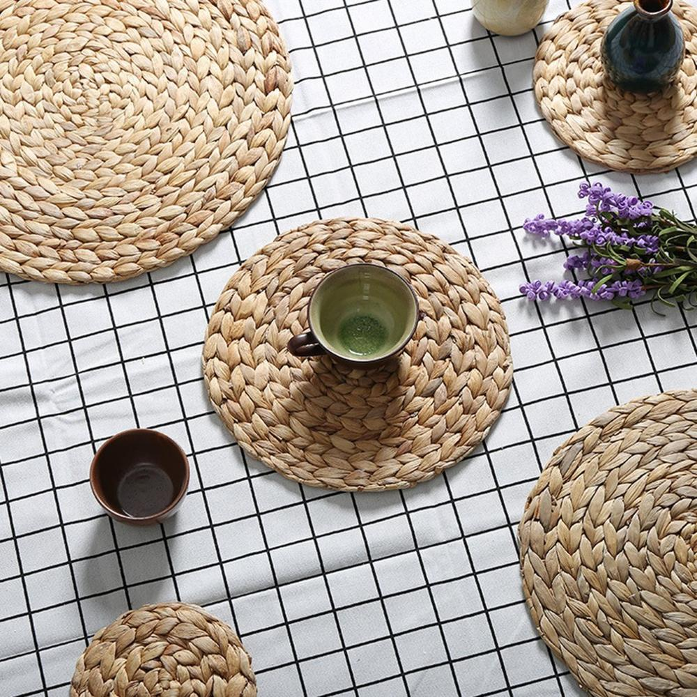 Natural Rattan Placemat (4 PCS)