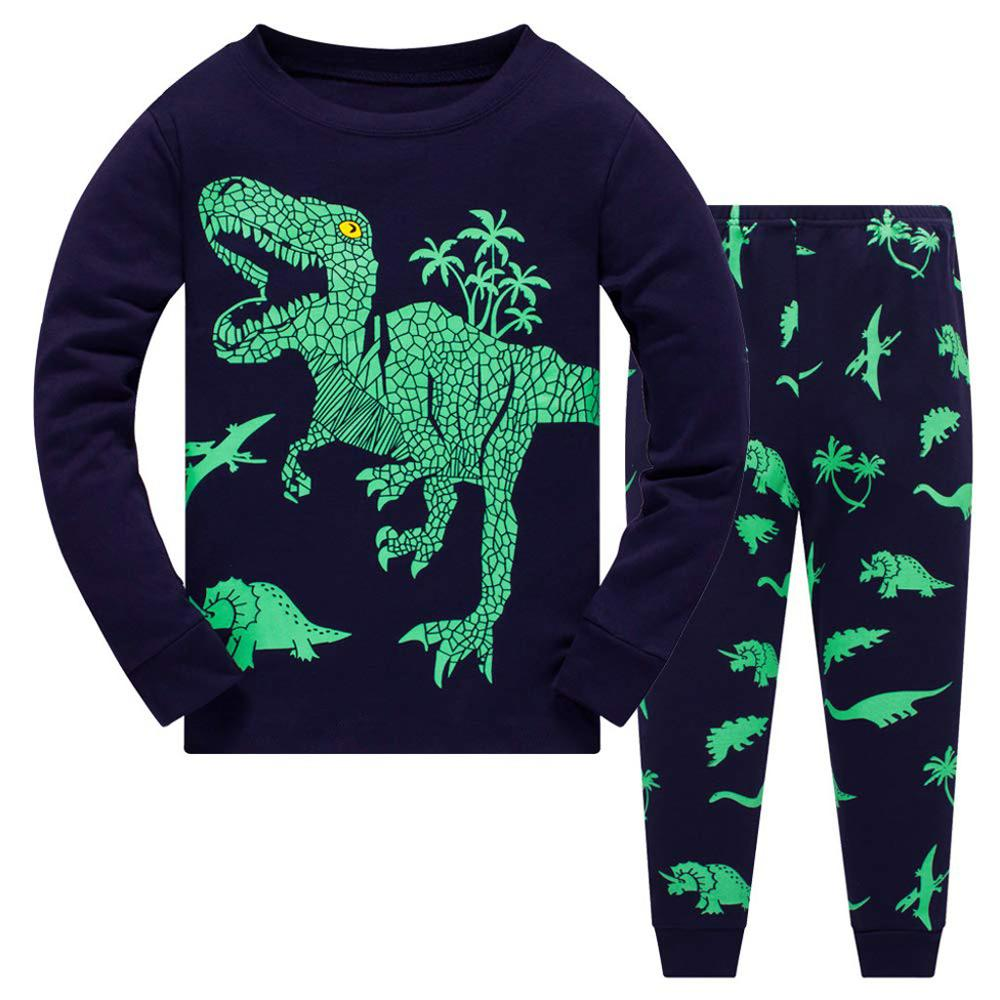 Kids Dinosaur Pajama Set